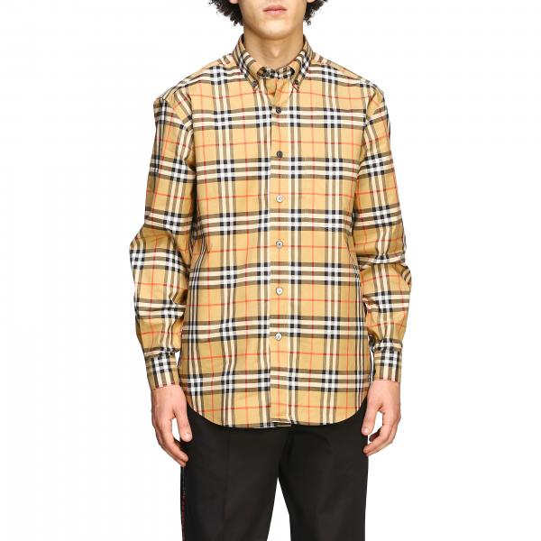 Camicia Jameson Burberry check con collo button down