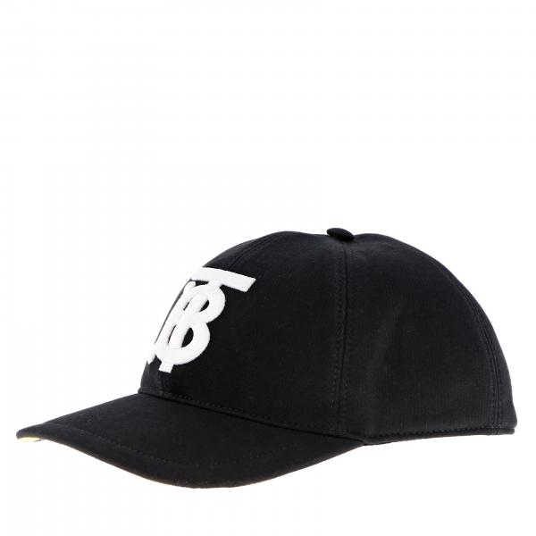 Burberry cotton baseball cap with TB logo