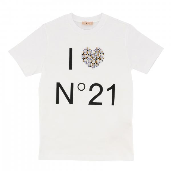 N ° 21 T-Shirt mit Aufdruck