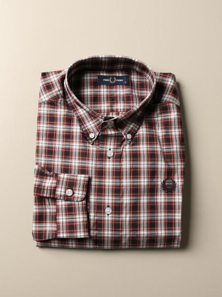 Camicia Fred Perry in cotone check