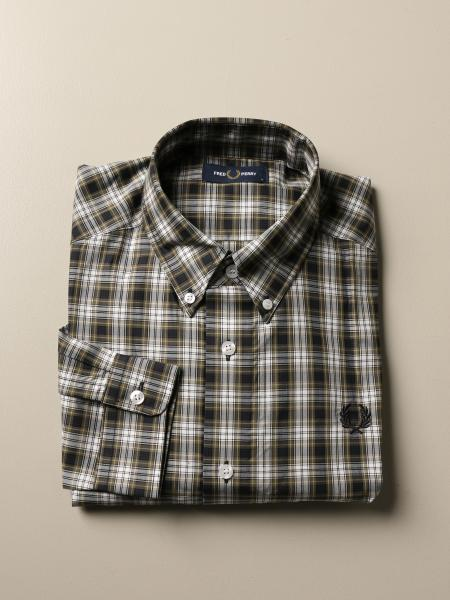 Fred Perry shirt in check cotton