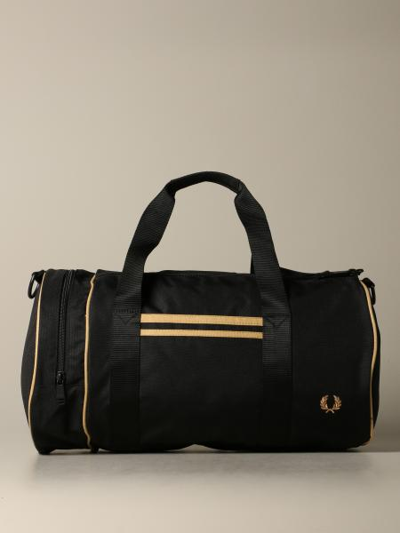 Borsone Fred Perry in nylon cn logo