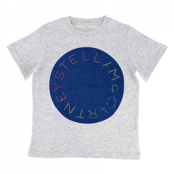 Stella McCartney short-sleeved T-shirt with logo