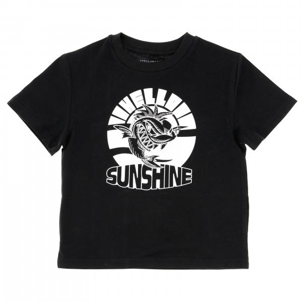 T-shirt Stella McCartney à manches courtes avec logo Hello Sunshine