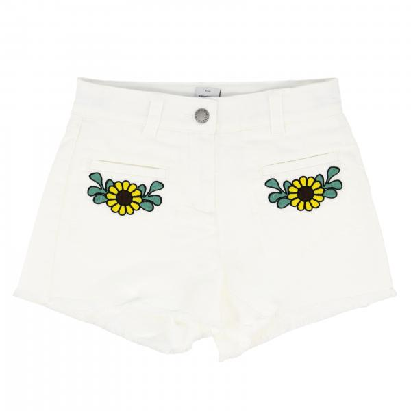 Stella McCartney shorts with floral embroidery