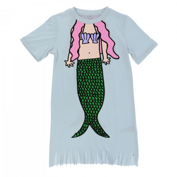 Stella McCartney dress with mermaid print