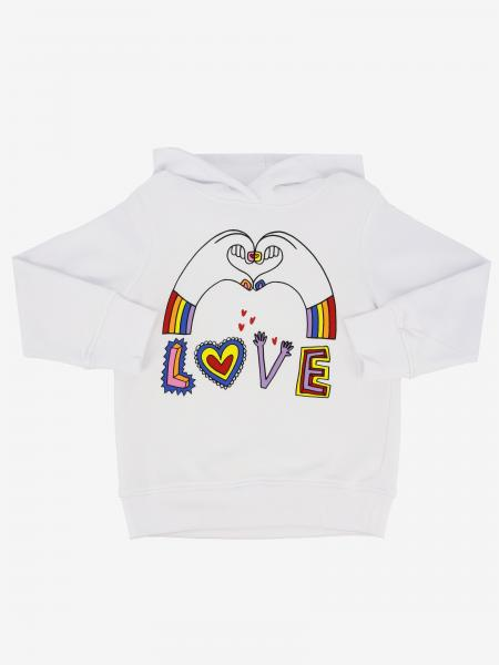 Sweat Stella McCartney avec capuche et inscription love