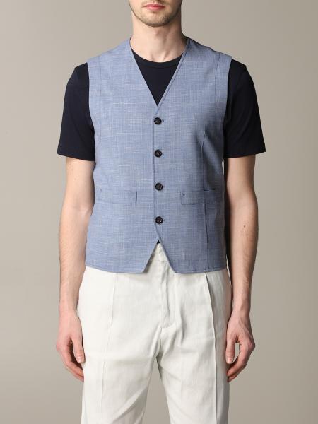 Suit vest men Paolo Pecora