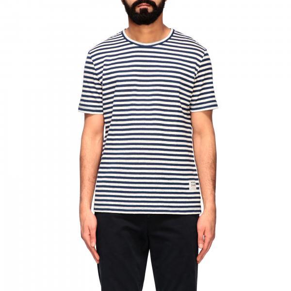 Paolo Pecora logo 条纹T恤