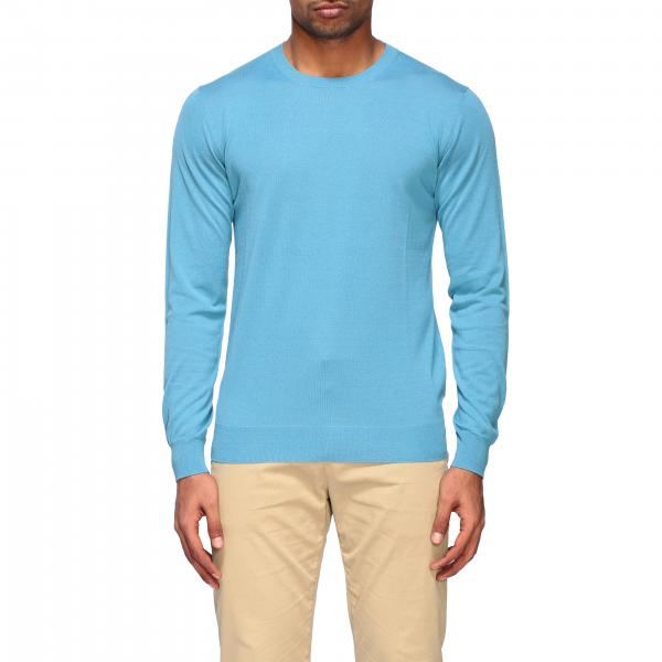 Paolo Pecora crewneck sweater in silk and cotton