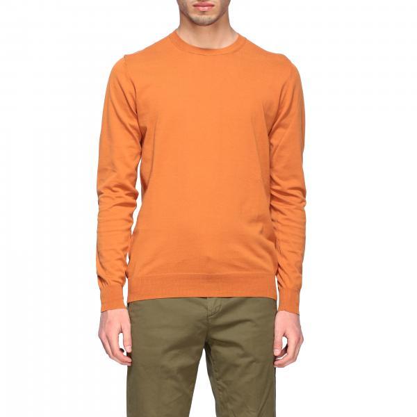 Paolo Pecora Sweatshirt aus Baumwolle mit Rundhalsausschnitt