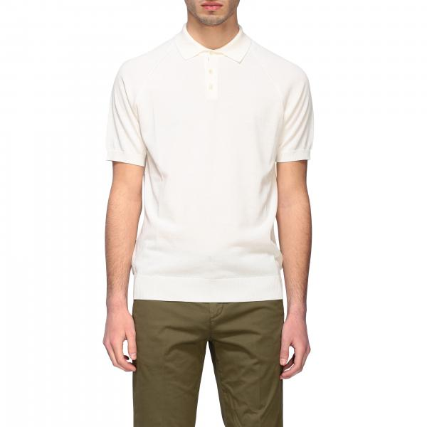 Paolo Pecora short-sleeved polo shirt in basic cotton