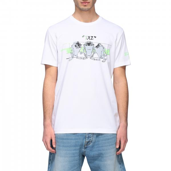 Iceberg crew neck T-shirt with front print