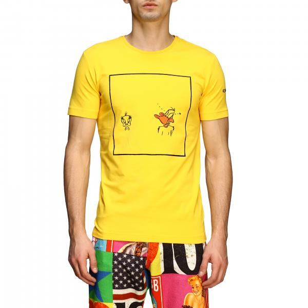 Iceberg T-shirt with Tweety and Duffy Duck print