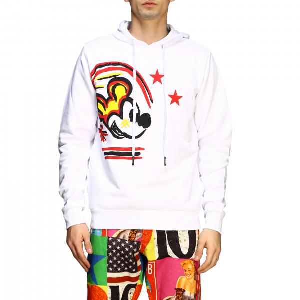Iceberg hoodie with Mickey Mouse print