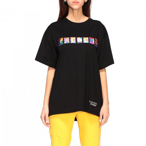 Iceberg x Peter Blake t-shirt with multicolor logo patch