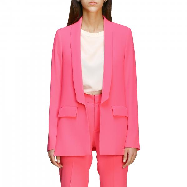 Ice Play cady blazer with logoed bands