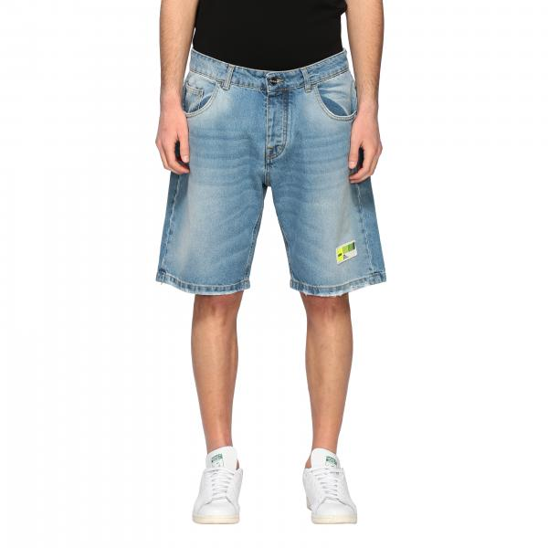 Ice Play regular play denim shorts with breaks