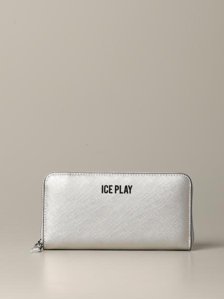 Кошелек Ice Play из искусственной кожи с логотипом