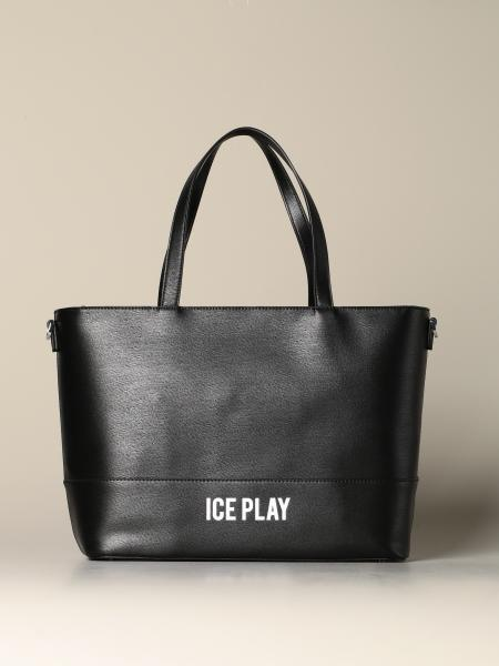 Borsa Ice Play in pelle sintetica con logo
