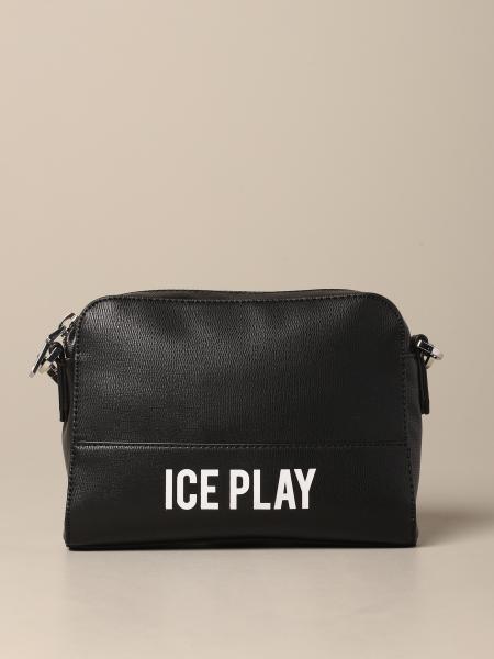 Ice Play logo人造皮手袋