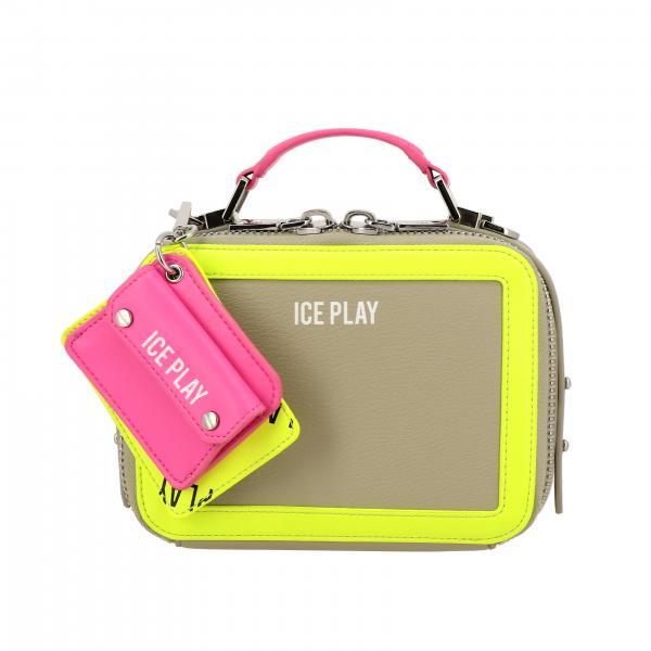 Borsa a mattoncino Ice Play in pelle sintetica colorata