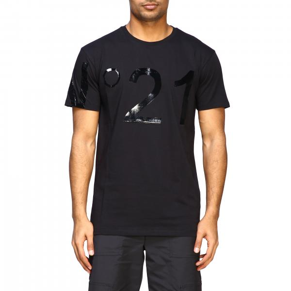 T-shirt à manches courtes N°21 avec grand logo