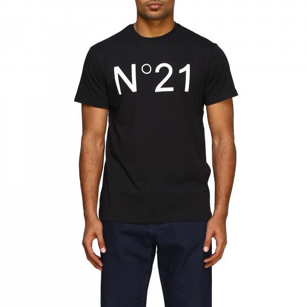 T-shirt N°21 basic con stampa logo