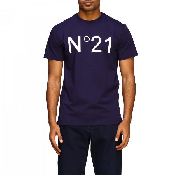 T-shirt basique N°21 avec logo imprimé