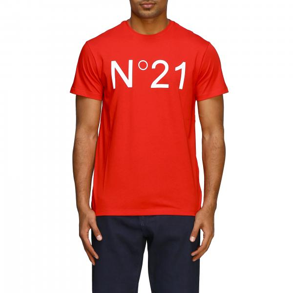 Футболка N° 21 классическая с логотипом