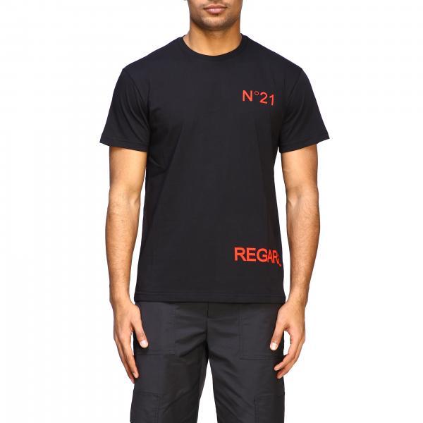 T-shirt N°21 a maniche corte con stampa regarde moi