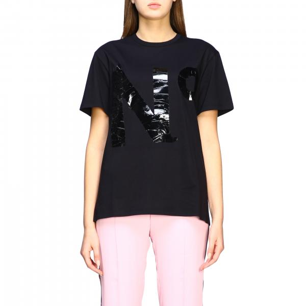 T-shirt N°21 a maniche corte con stampa logo