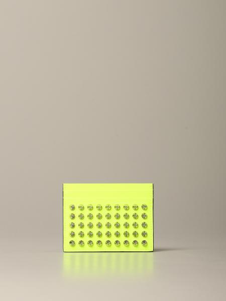 Porte-cartes de crédit Kios Christian Louboutin avec clous