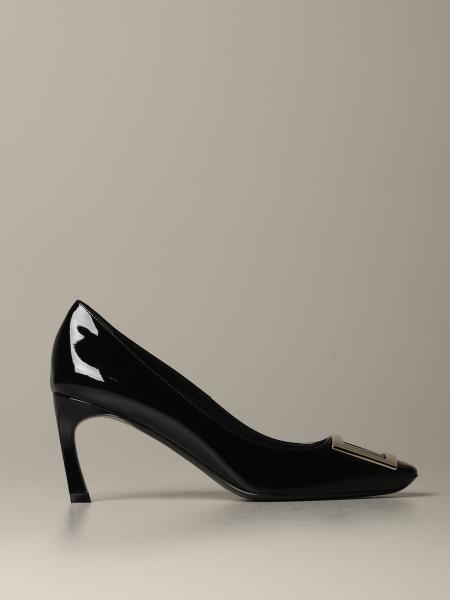 Belle Vivier Trompette Roger Vivier patent leather pumps
