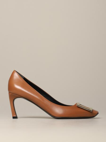 Roger Vivier leather pumps