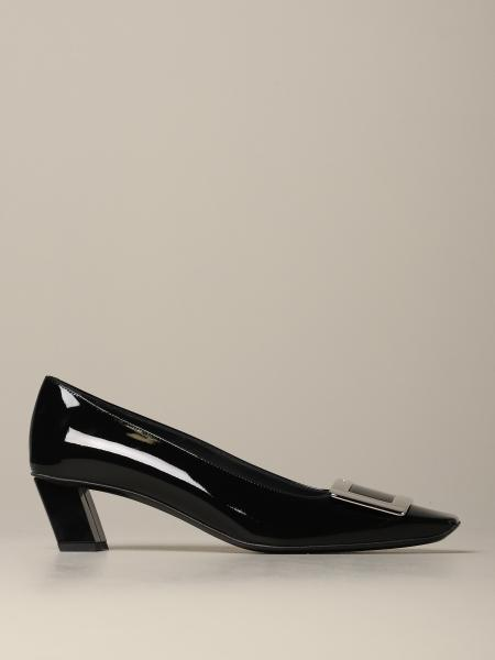 Belle Vivier Roger Vivier patent leather pumps