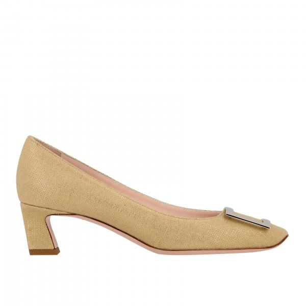 Belle Vivier Roger Vivier pumps in laminated fabric