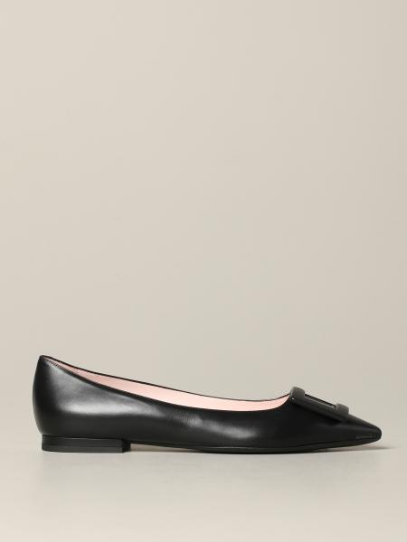 Roger Vivier Gommetine ballet flat in leather