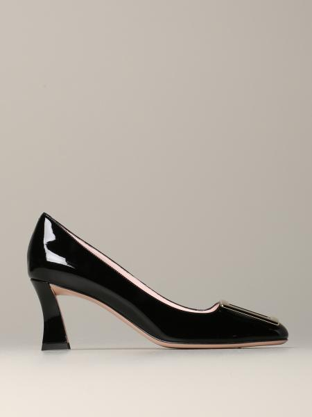 Roger Vivier patent leather Tres vivier pump