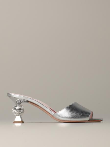 Vivier Marlene Roger Vivier mule in laminated leather