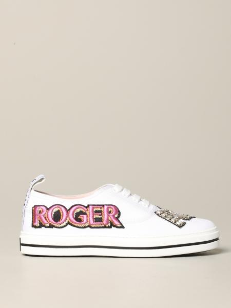 Call me Roger Vivier sneakers with patch and logo