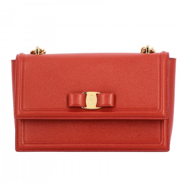 Vara Ginny Salvatore Ferragamo bag in score leather