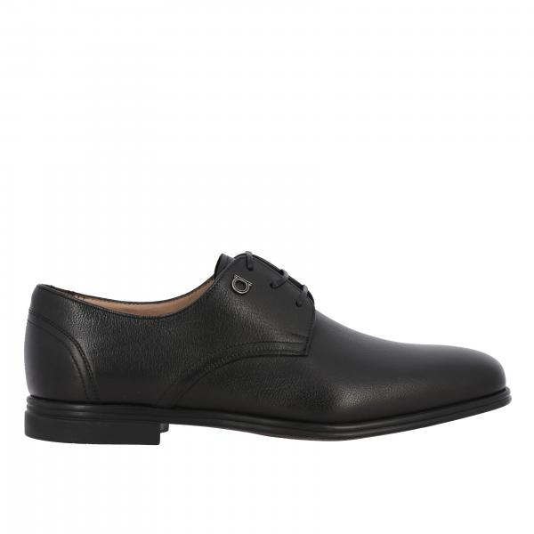 Salvatore Ferragamo men: Salvatore Ferragamo leather Spencer derby with Mediterranean hook
