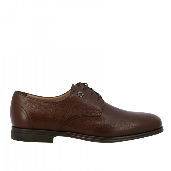 Salvatore Ferragamo Leder Spencer Derby