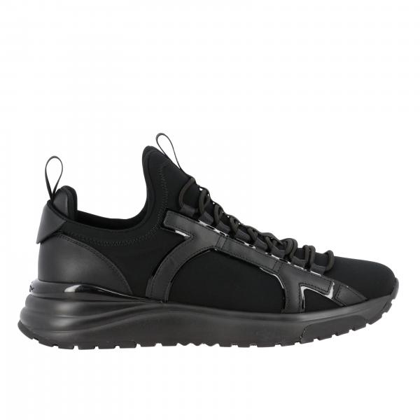 Sneakers Skiro Salvatore Ferragamo in neoprene con big logo