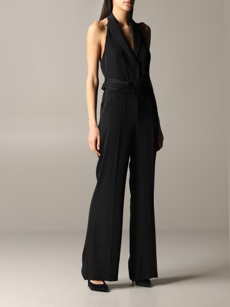Hanita long sleeveless jumpsuit