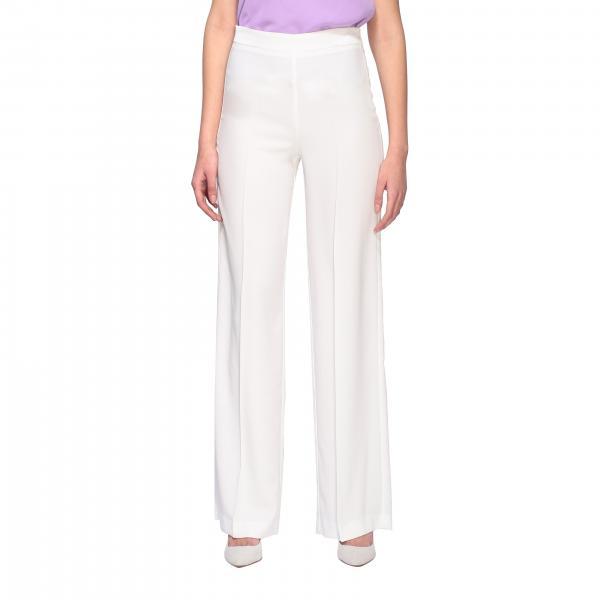 Pantalone H Couture ampio in crêpe
