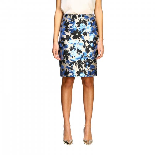 Boutique Moschino 花卉印花半身裙