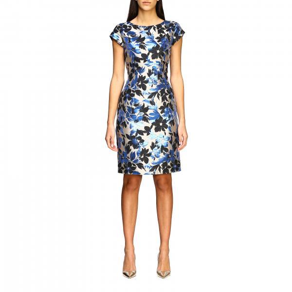 Boutique Moschino Kleid aus Brokat mit Blumenmuster