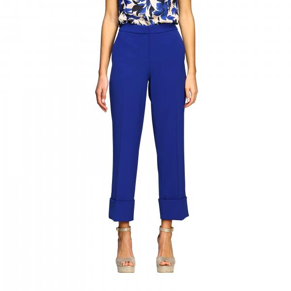 Pantalone Boutique Moschino cropped in cady